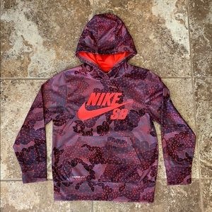 Boy's Nike SB Therma-Fit Fleece Hoodie Size Small